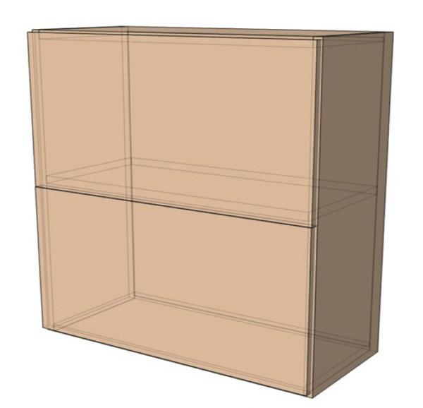 Навесной Шкаф 100Верх м(1000х718)