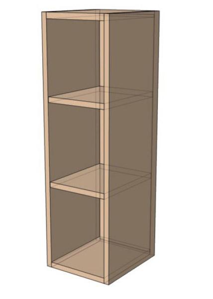 Навесной Шкаф открытый 20Верх(200х718)