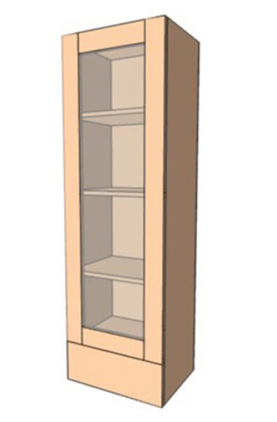 Навесной Шкаф 40ВерхВитрина Пенал (400х1275)