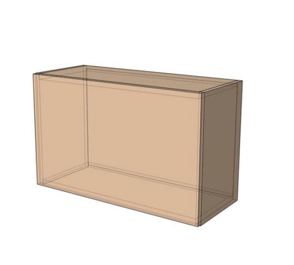 Навесной Шкаф 50Верх вытяжка (500х360)