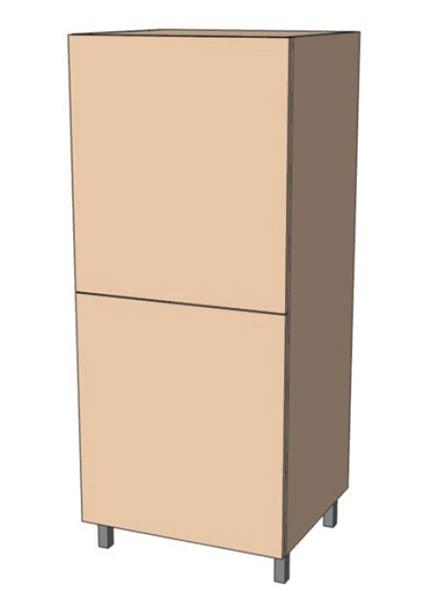 Нижняя тумба 60 низ пенал М (600х1420)