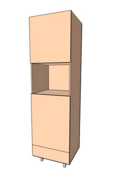 Нижняя тумба 60 низ пенал В1 (600х2133)