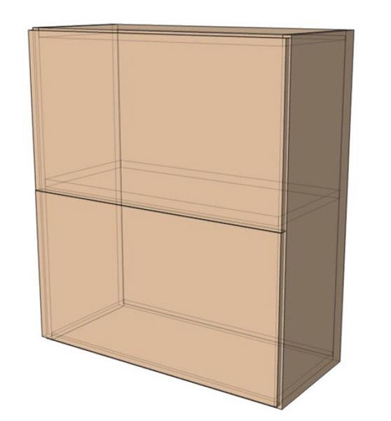 Навесной Шкаф 60Верх м(600х718)