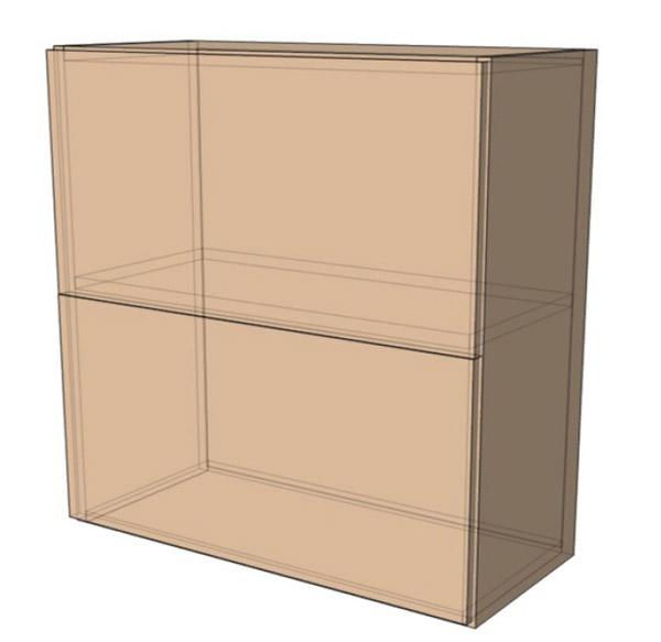 Навесной Шкаф 80Верх м(800х718)