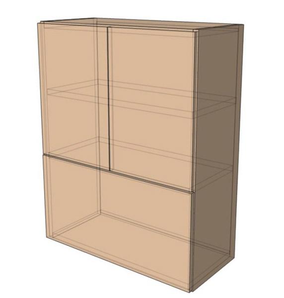 Навесной Шкаф 80Верх м/925 (800х925)
