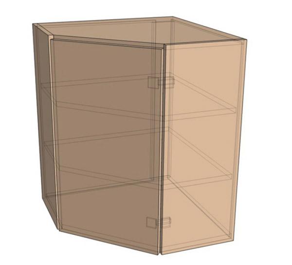 Навесной Шкаф Верх Угол (550х718)