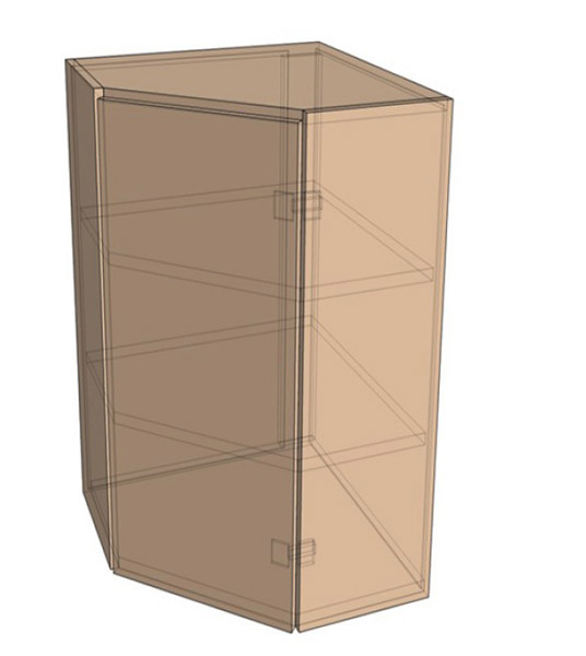 Навесной Шкаф Верх Угол /925 (550х925)