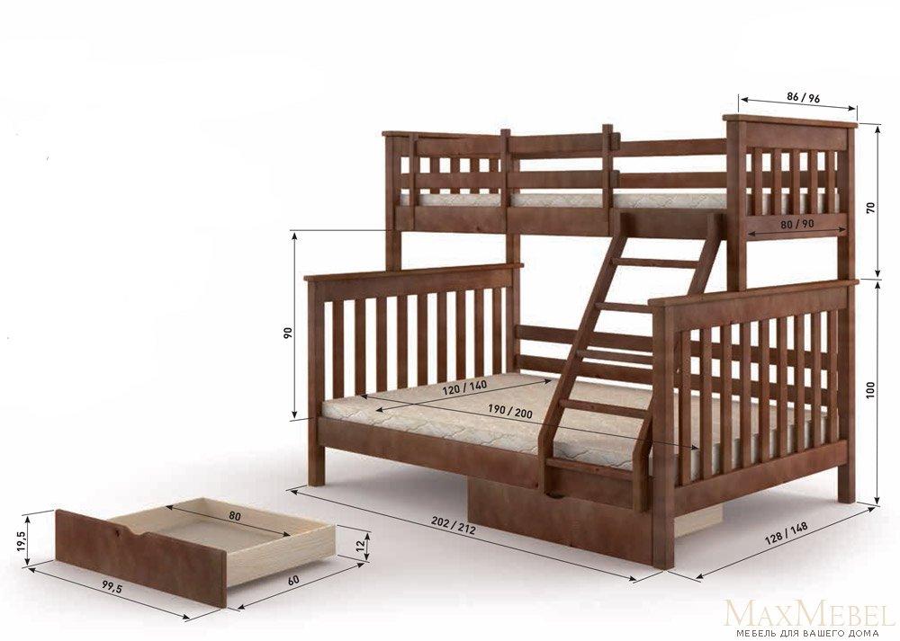 Кровать 140 200 купить недорого